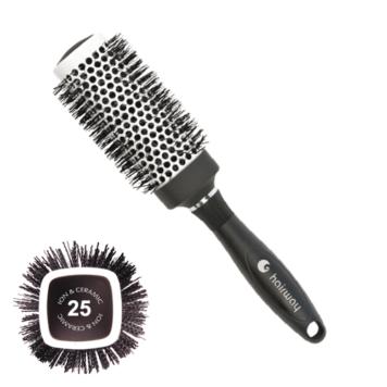Βούρτσα Hairway κεραμική 07126, τετράγωνη Φ25