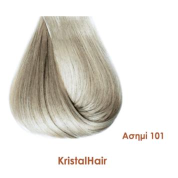 Βαφή μαλλιών mixton KristalHair ασημί 101
