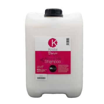 Σαμπουάν BBcos Kristal Basic γάλα αμυγδάλου 10lt