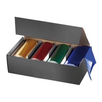 Αλουμινόχαρτο 4 ρολάκια χρωματιστά Comair