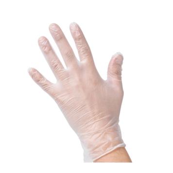 Γάντια βινυλίου με πούδρα μιας χρήσης (100 τεμάχια)