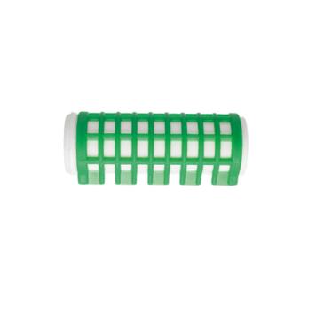 Ρολά μαλλιών βραστά πράσινα 23mm Eurostil 03392