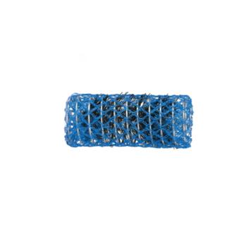 Ρολό μαλλιών μπλε 25mm συρμάτινο με τρίχα 29338