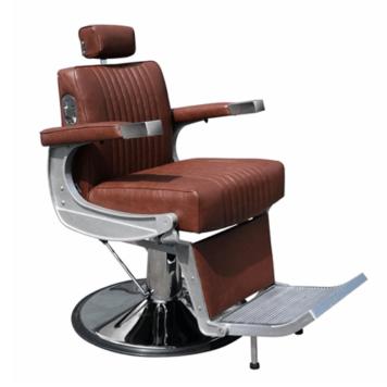 Καρέκλα κουρείου Hairway David καφέ