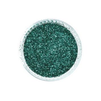 Glitter νυχιών σε σκόνη πράσινο