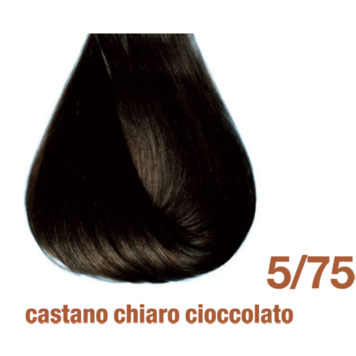 Βαφή BBcos innovation 5/75 καστανό ανοιχτό, σοκολατί ακαζού