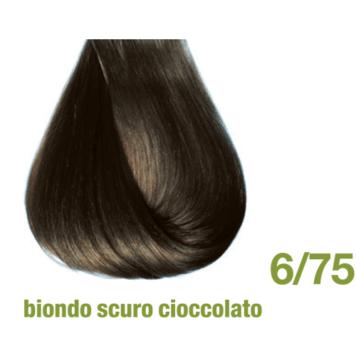 Βαφή χωρίς αμμωνία 6/75 ξανθό σκούρο σοκολατί