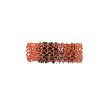 Ρολό μαλλιών πορτοκαλί 22mm συρμάτινο με τρίχα 29337