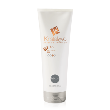 Ζελέ μαλλιών wet look Kristal Evo BBCos 250ml