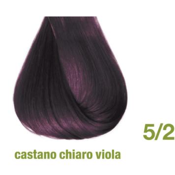 Βαφή χωρίς αμμωνία 5/2 καστανό ανοιχτό βιολέ
