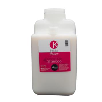 Σαμπουάν Kristal Basic γάλα αμυγδάλου 5lt