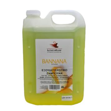 Σαμπουάν με άρωμα μπανάνα 4lt