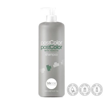 bbcos Post Color Keratin shampoo