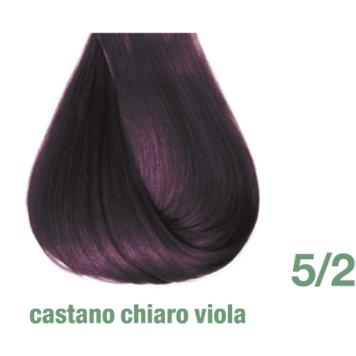 Βαφή Pro.Color 5/2 καστανό ανοιχτό βιολέ