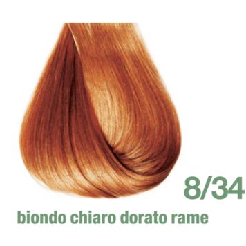 Βαφή Pro.Color 8/34 ξανθό ανοιχτό ντορέ χάλκινο