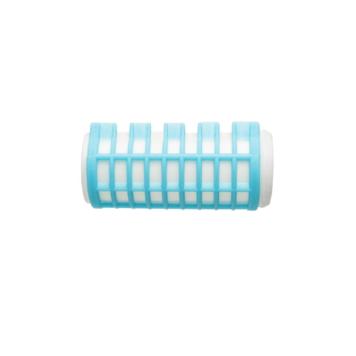 Ρολά μαλλιών βραστά γαλάζια 28mm Eurostil 03393