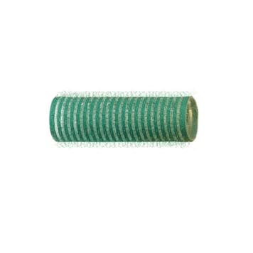 Αυτοκόλλητα ρολά μαλλιών 21mm πράσινο Eurostil 0010