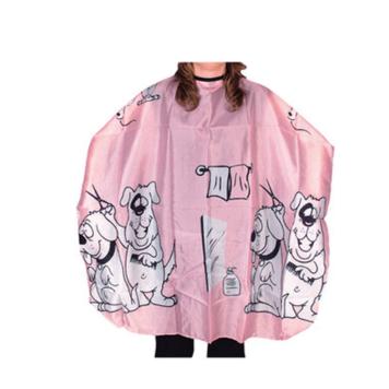 Μπέρτα κουρέματος παιδική με σκυλάκια ροζ