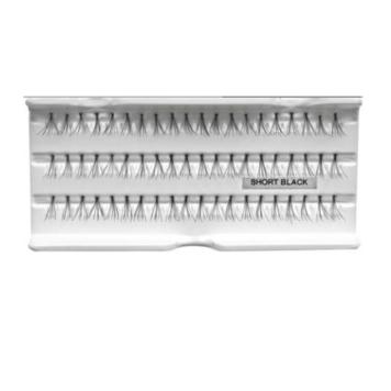 Βλεφαρίδες τουφάκια short 10mm 60 τεμάχια