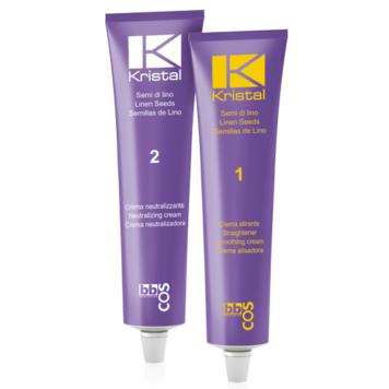 Ισιωτική κρέμα μαλλιών Kristal BBcos 2 τεμάχια