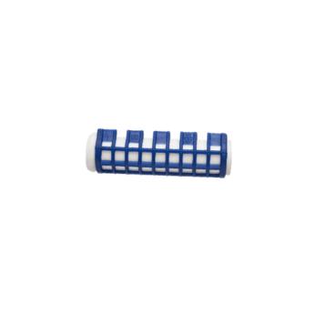 Ρολά μαλλιών βραστά μπλε 17mm Eurostil 03391