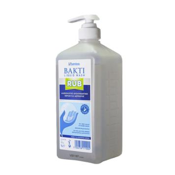 Αντισηπτικό χεριών Bakti liquid wash Rub