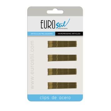 Τσιμπιδάκια μαλλιών ξανθά Eurostil 01609