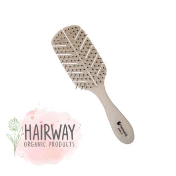 Οργανική βούρτσα Hairway 08094-06 μπεζ