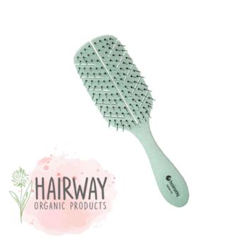 Οργανική βούρτσα Hairway 08094-23 πράσινο