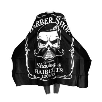 Μπέρτα κουρέματος barber με νεκροκεφαλή
