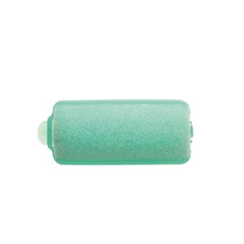 Ρολά μαλλιών ύπνου 25mm πράσινα